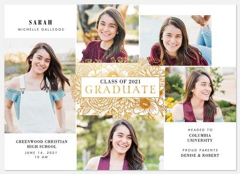 Gardenesque Graduation Cards