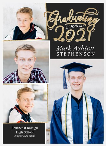 Calligraphic Gallery Graduation Cards