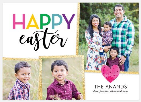 Easter Rainbow Easter Photo Cards