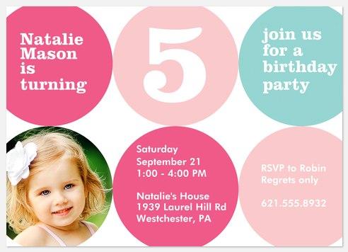 Bounce & Play Kids' Birthday Invitations