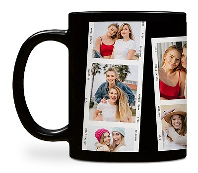 Film Strip Custom Mugs