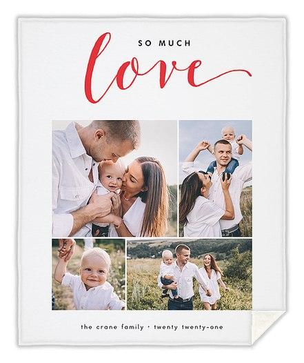 Much Love Collage Custom Blankets