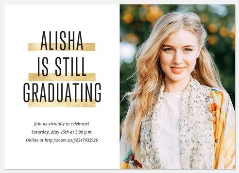 Still Graduating Graduation Cards