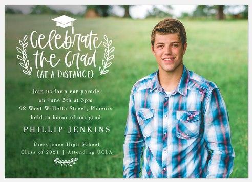 Celebrate at Distance Graduation Cards