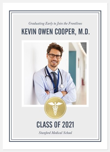 Healthcare Hero Graduation Cards