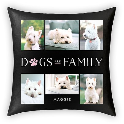 Paw Family Custom Pillows