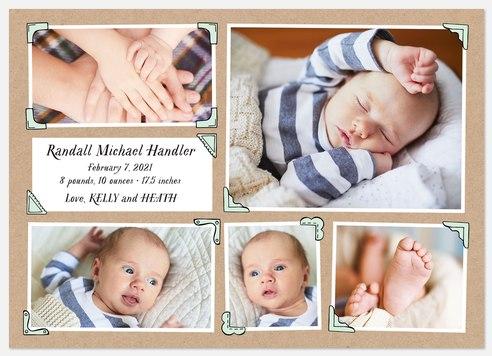 Kraft Album Baby Birth Announcements