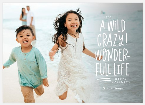 Wild & Crazy Holiday Photo Cards