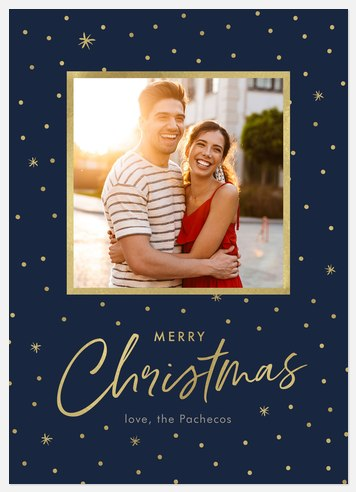 Simply Celestial Holiday Photo Cards