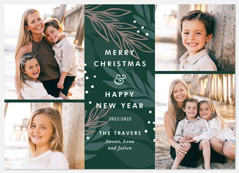 Wintergreen Holiday Photo Cards