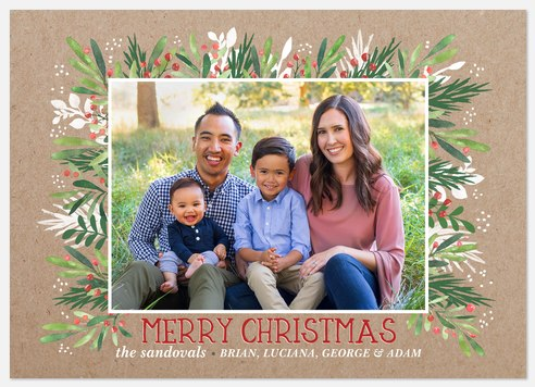 Handmade Holidays Holiday Photo Cards