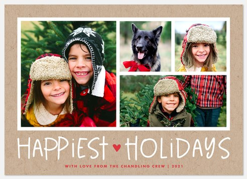 Happiest Days Holiday Photo Cards