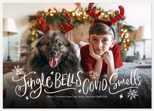 Jingle Bells Holiday Photo Cards