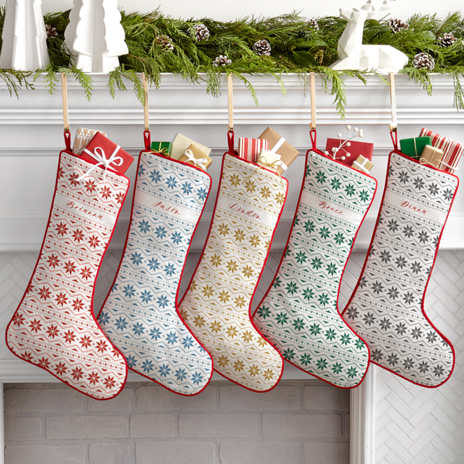 Cozy Sweater Personalized Stockings