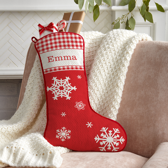 Classic Elements Personalized Stockings