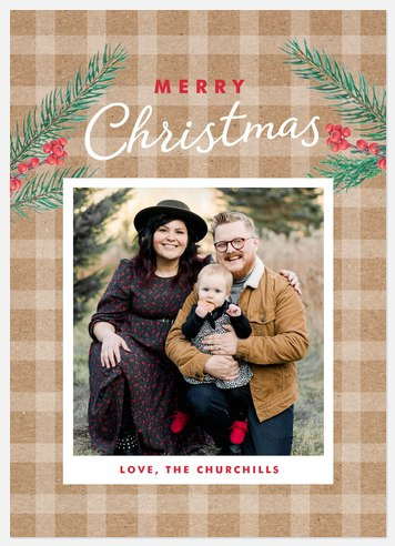 Kraft Snapshot Holiday Photo Cards