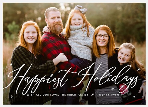 Charming Merriment Holiday Photo Cards
