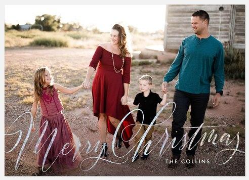 Holiday Overlays Holiday Photo Cards