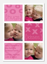Hugs and Kisses -  Valentine Cards