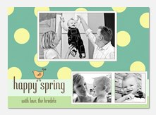 Spring Roll - Easter Photo Cards