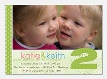Twin birthday invitations photoaffections twins big number filmwisefo
