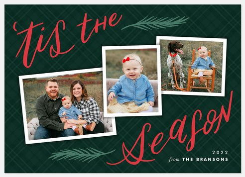 Tis the Season Holiday Photo Cards