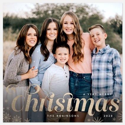 Christmas Shine Holiday Photo Cards