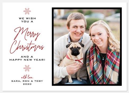 Iconographic Holiday Photo Cards