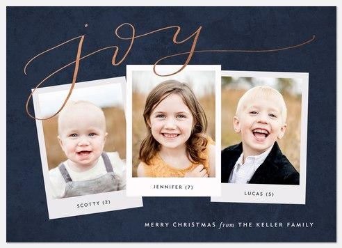 Insta Joy Holiday Photo Cards