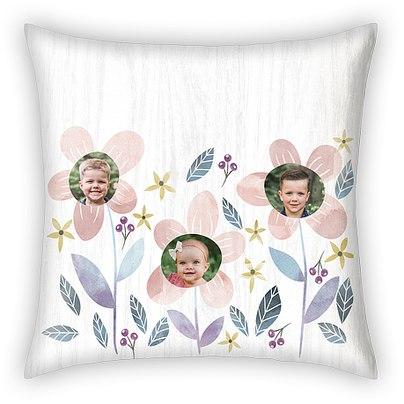 Floral Fun Custom Pillows