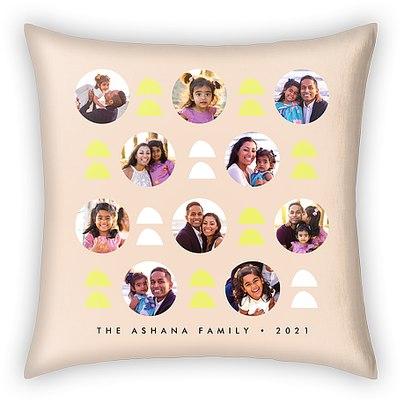 Geo Shapes Custom Pillows