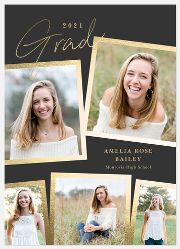 Shining Grad Graduation Cards