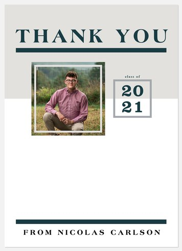 Spruce Scholar Thank You Cards
