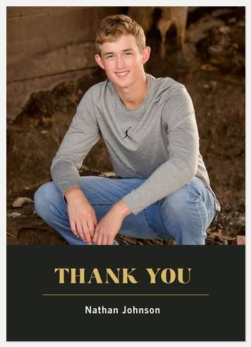 Classic Thank You Thank You Cards
