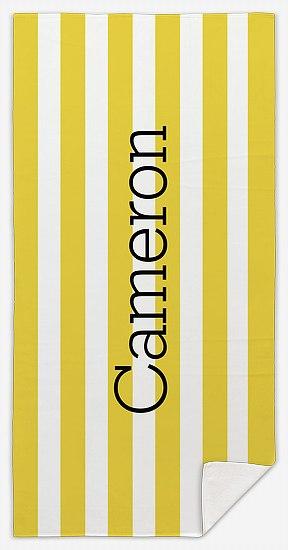 Cabana Stripes Custom Beach Towels