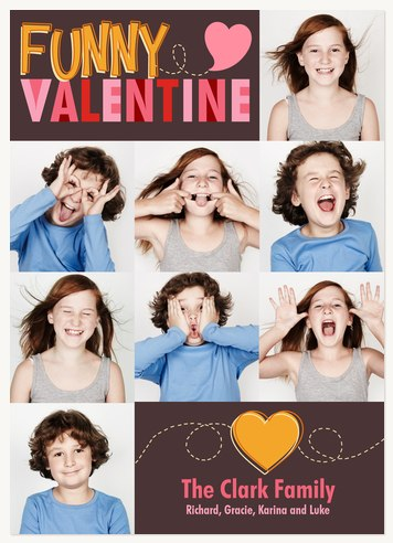 Our Funny Valentine Valentines Cards