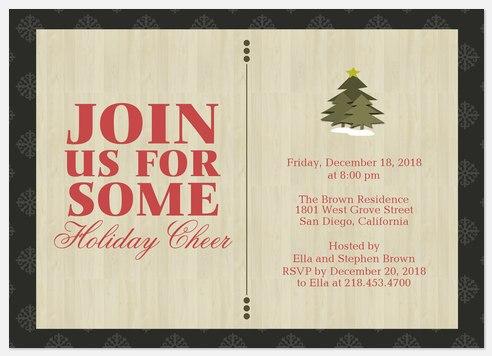 Triple Tree Invitation