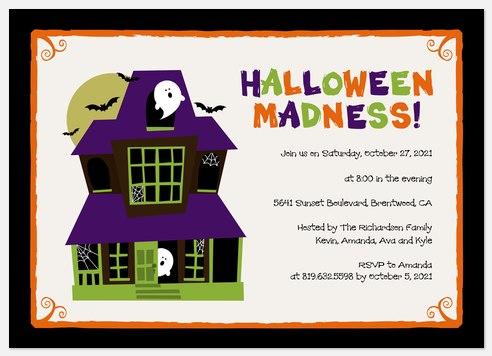 Halloween Madness Halloween Photo Cards
