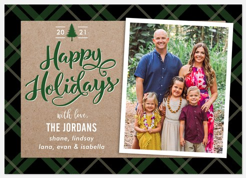 Lone Pine Holiday Photo Cards