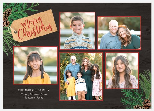 Simply Tagged Holiday Photo Cards