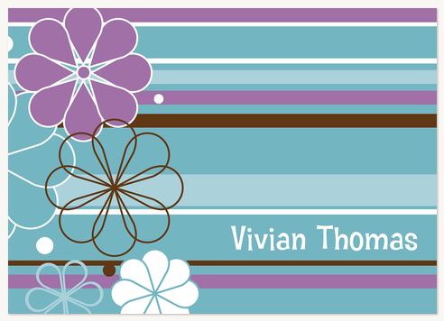Thank You Cards for Women, Petalicious Design