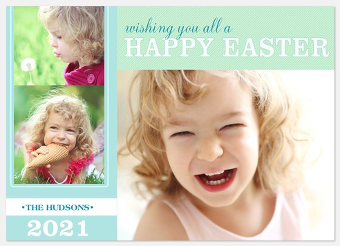 Citrus Sweet Easter Photo Cards