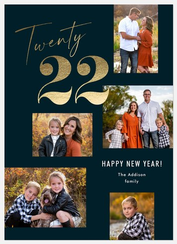 Multi Year Holiday Photo Cards