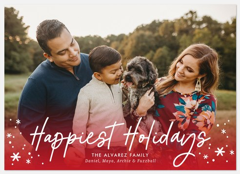 Jolly Glow Holiday Photo Cards