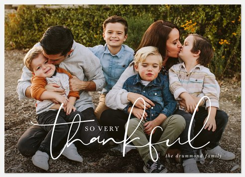 So Very Thankful Thanksgiving Cards