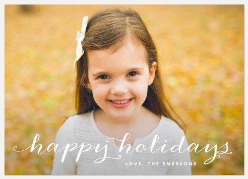 Christmas Posh  Holiday Photo Cards