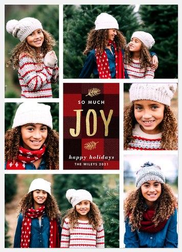 Cozy Fleece Holiday Photo Cards