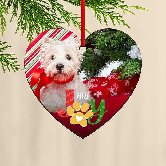 Joyful Paws Custom Ornaments