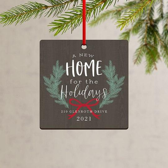 Cozy Home Custom Ornaments