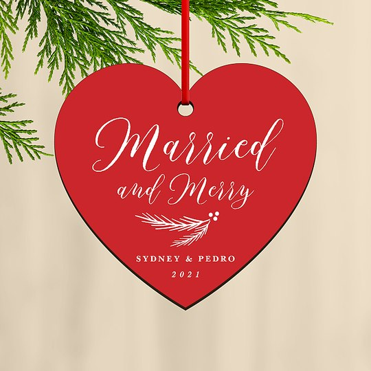 Merry Heart Custom Ornaments